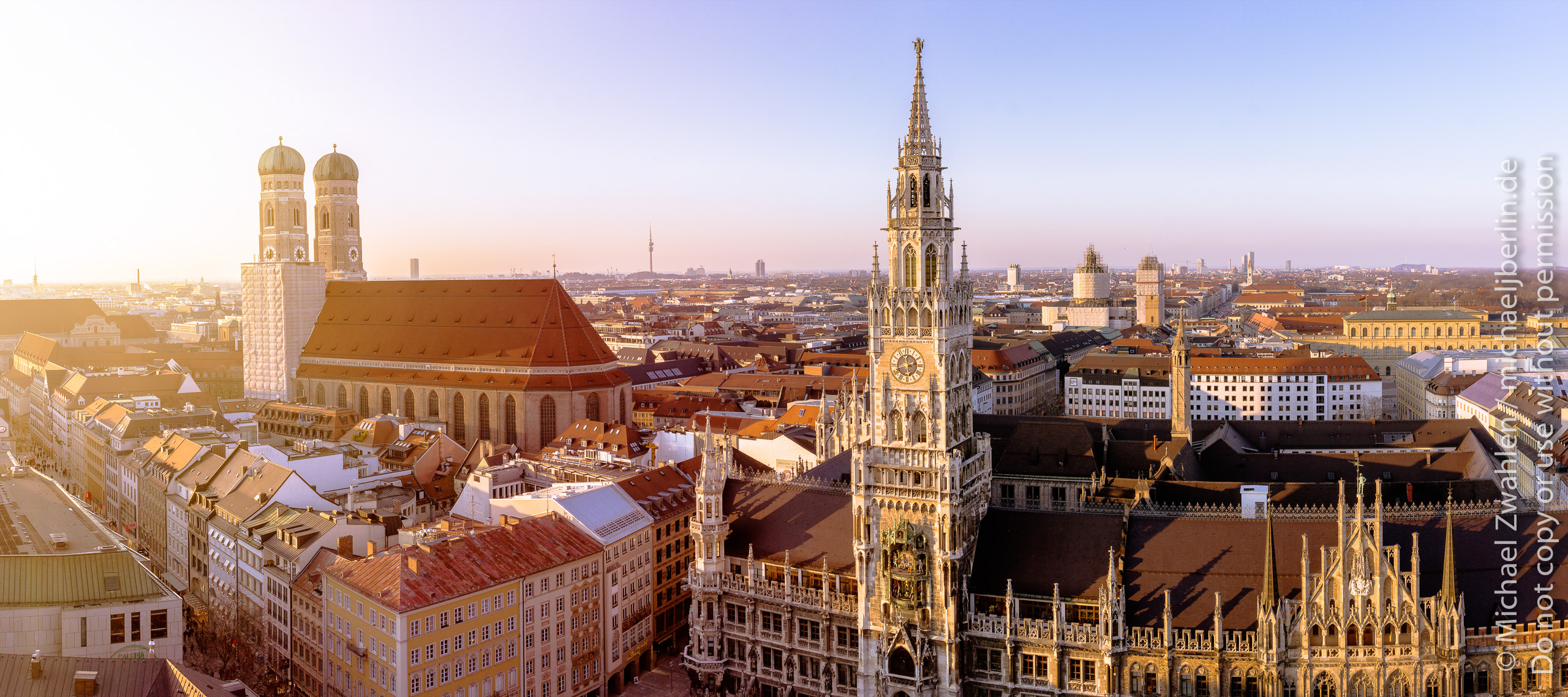 Über den Dächern von München